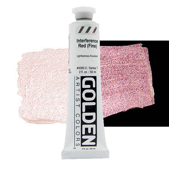 Heavy Body 4160 S7 Interference Red (Coarse) Golden 60ml