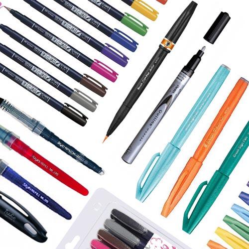 Kalligrafie (Brush) Pennen