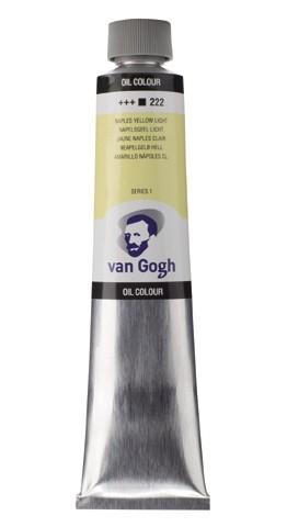 Napelsgeel Licht 222 Olieverf 200 ml. Van Gogh
