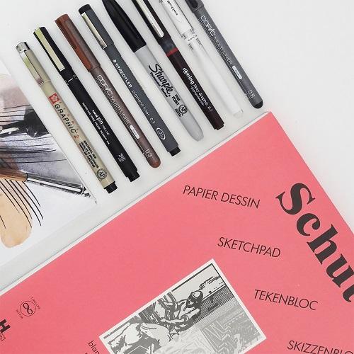 Stiften & Fineliners