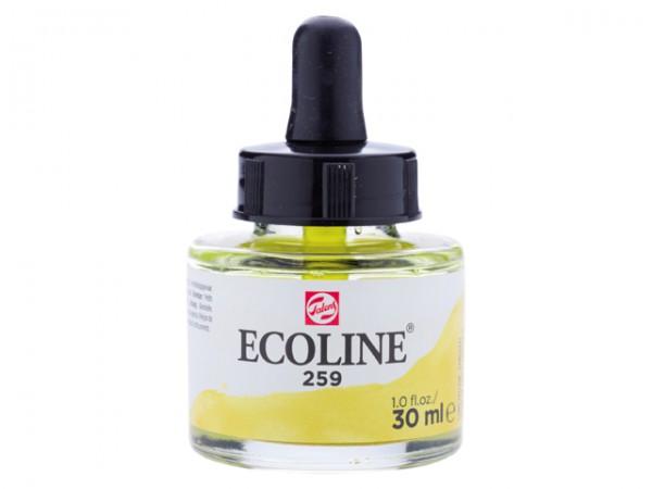 Talens ecoline inkt 30ml - 259 Zandgeel Inkt Kroontjespen