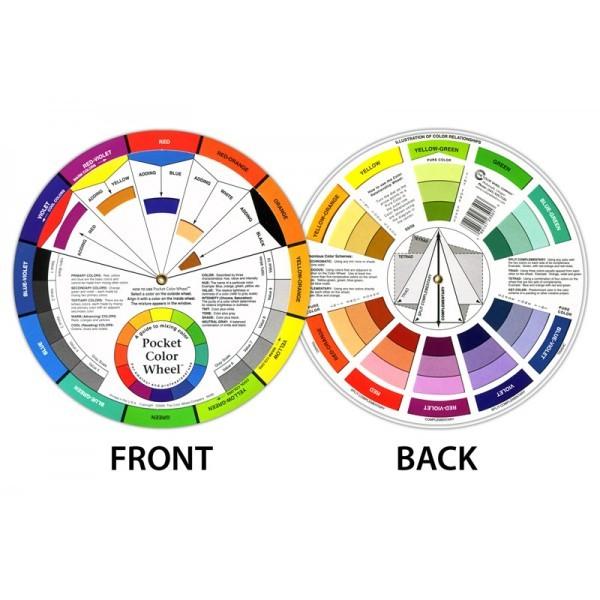 Color Wheel big - Kleuren cirkel groot