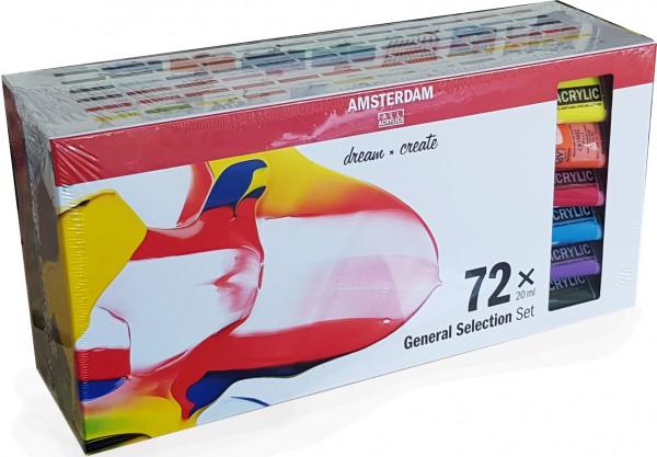 Amsterdam Acrylverf Set 72 x 20 ml