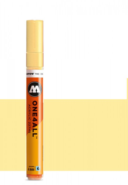Molotow One4All Acryl Marker 227HS 4mm VANILLA PASTEL