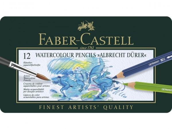 Aquarelpotloden Dürer 12 set Faber Castell