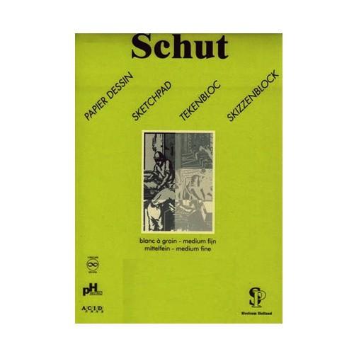 Schut Dessin Tekenpapier 125gr A2 groen