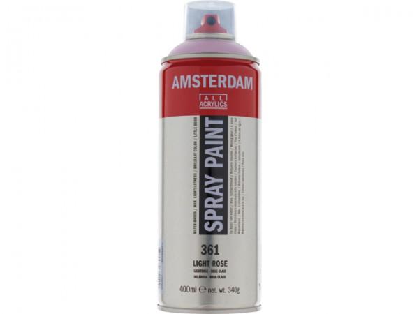 Amsterdam spray paint 400 ml Lichtrose D 361