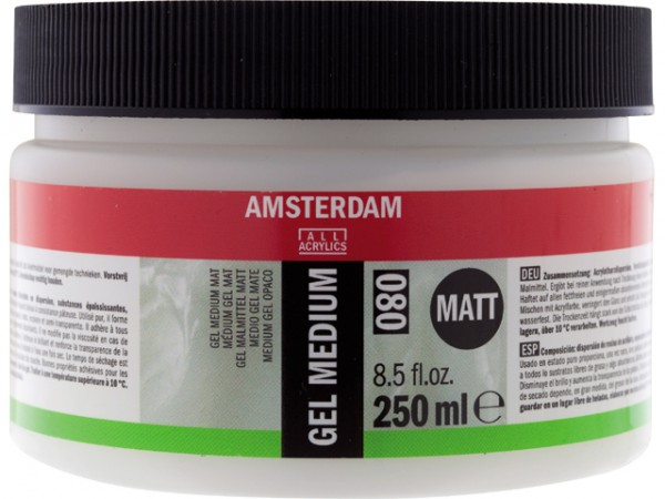 Amsterdam Gel Medium Mat 080 250ml