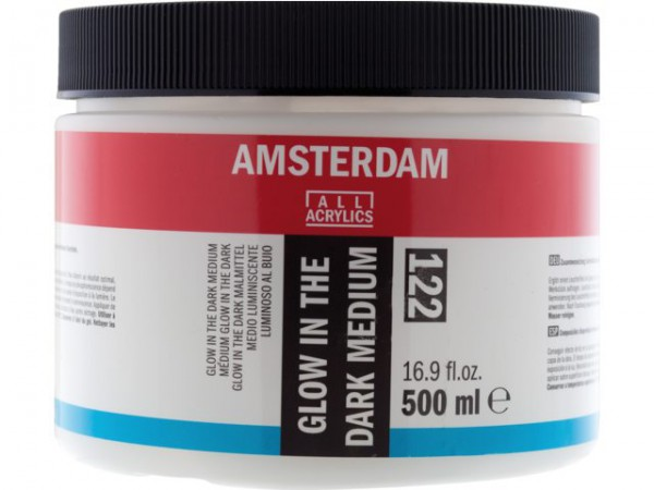 Amsterdam Glow in the dark medium 122 – 500 ml