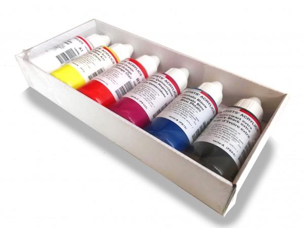 ARA Set Acrylics Introductie basis set 6 x 100ml