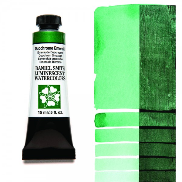Duochrome Emerald Serie 1 Watercolor 15 ml. Daniel Smith