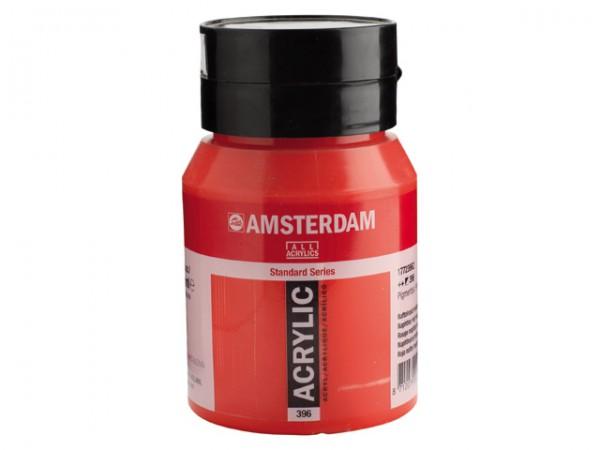 Amsterdam Acryl 500ml 396 Naftolrood Middel