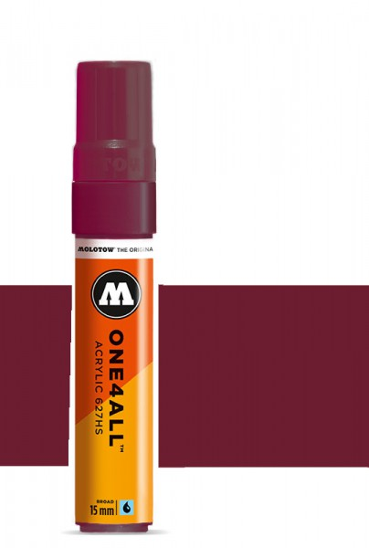 Molotow One4All Acryl Marker 627HS 15mm BURGUNDY