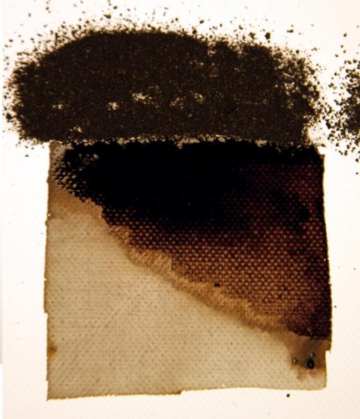 Inkt Zwart Bistre (Bister) Powertex Inkt Kroontjespen