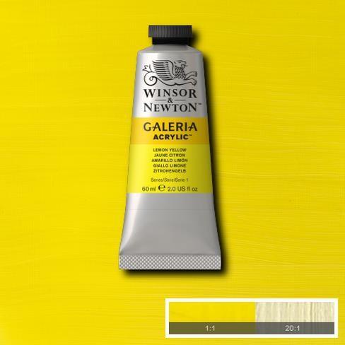 Galeria Acryl 60ml 346 S1 Lemon Yellow