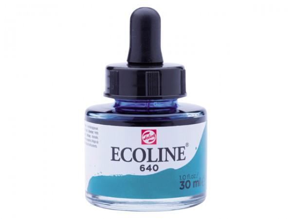 Talens ecoline inkt 30ml - 640 Blauwgroen