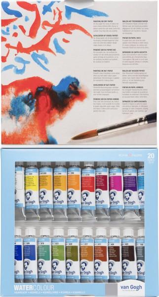 Van Gogh Waterverf set 20 tubes