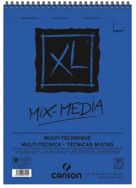 A4 Mix Media XL Blok Canson 300 gr