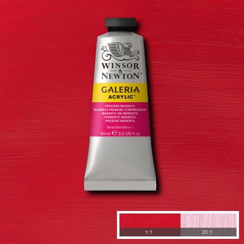 Galeria Acryl 60ml 537 S1 Process Magenta