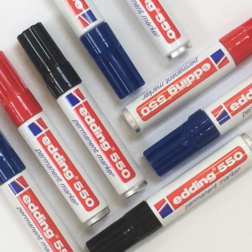 Edding Permanent Marker E-550 - 3-4mm