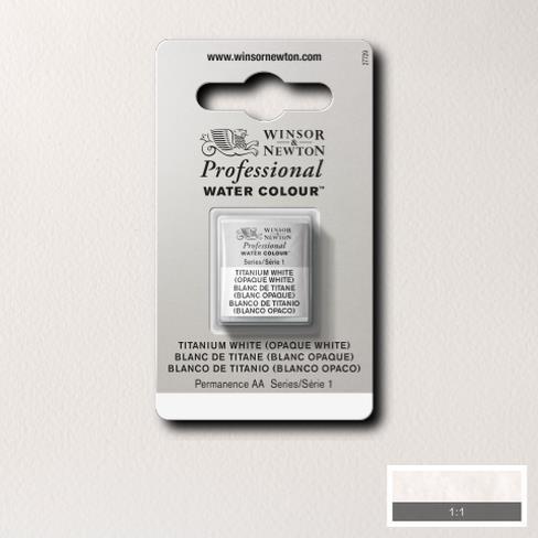 Artist's Aquarel Titanium White napje 644 S1