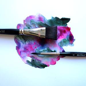 penselen voor aquarelverf