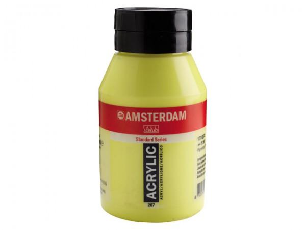 Amsterdam Acryl 1000ml 267 Azogeel Citroen 1 liter pot