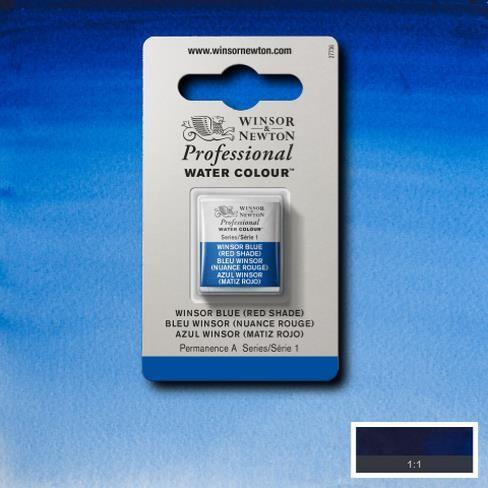 Artist's Aquarel Winsor Blue (red shade) napje 709 S1