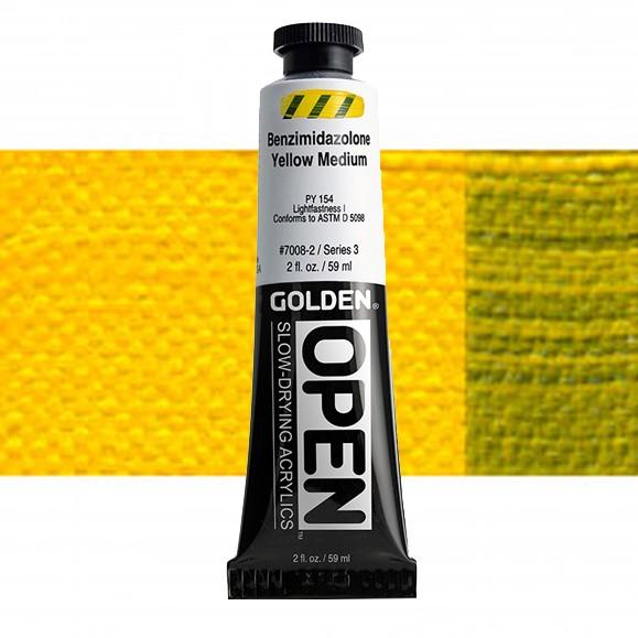 Golden Open 7008 S3 Benzimidazolone Geel Medium 60ml