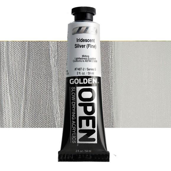 Golden Open 7487 S5 Iridescent Silver (Fine) 60ml