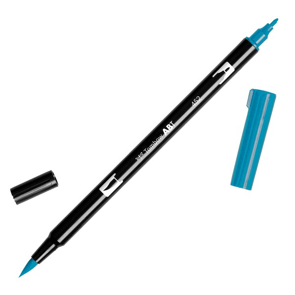 Tombow Dual Brush 452 Process Blue