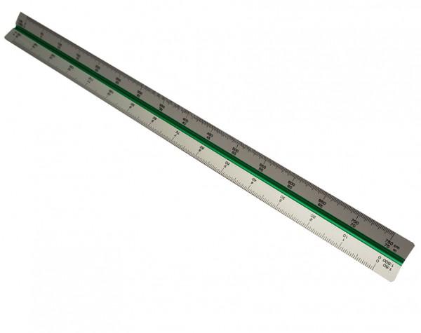 Aluminium schaalliniaal 30cm