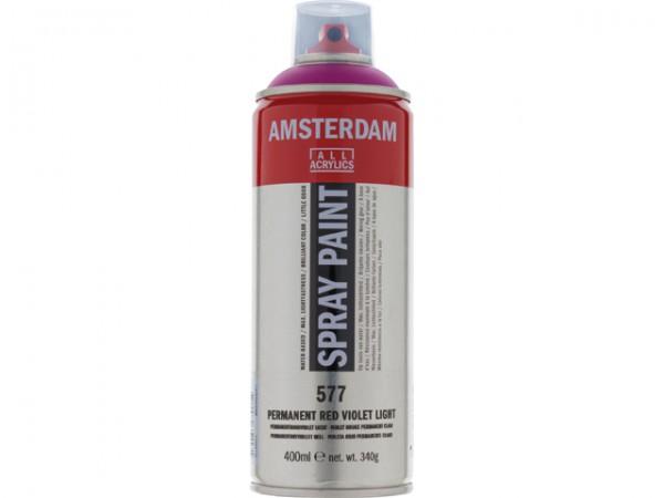 Amsterdam spray paint 400 ml Permanentroodviolet licht D 577