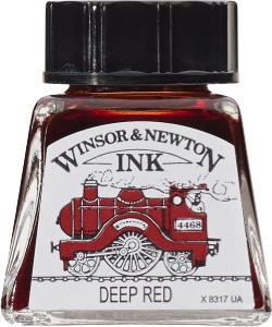 Teken Inkt 14ml Deep Red Winsor & Newton