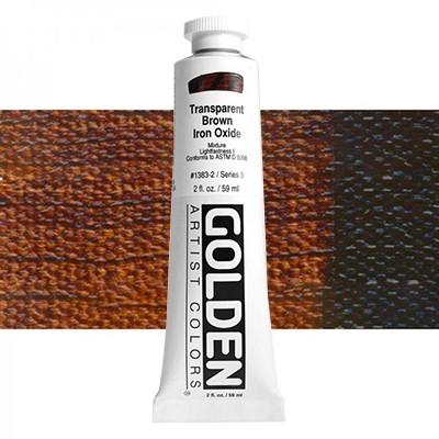 Heavy Body 1383 S3 Ijzeroxyde bruin transparan Golden 60ml