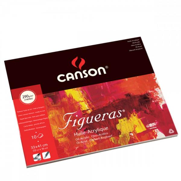 Canson Figueras 290g Olieverfpapier 33x41