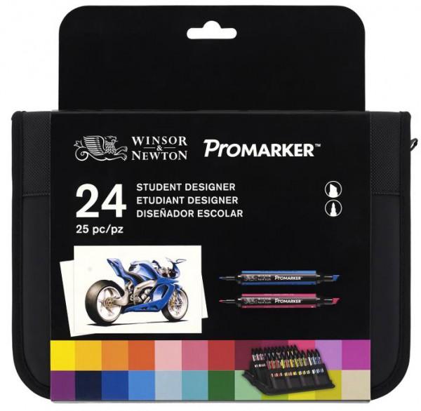 Promarker Set 24 - Student Designer Winsor & Newton