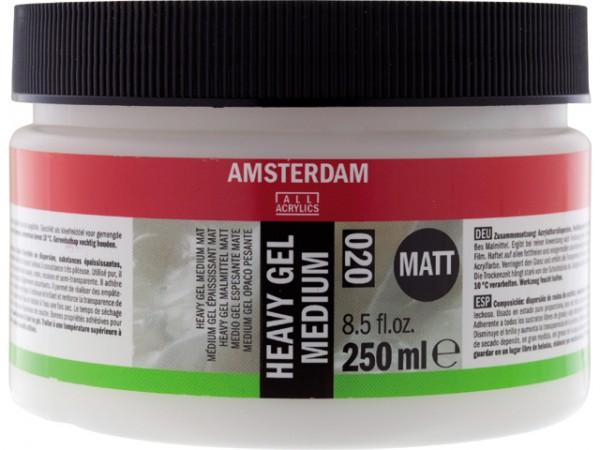 Amsterdam Heavy Gel Mat Medium 020 250ml