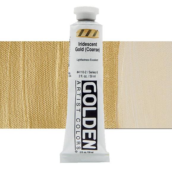 Heavy Body 4110 S6 Iridescent Gold (Coarse) Golden 60ml