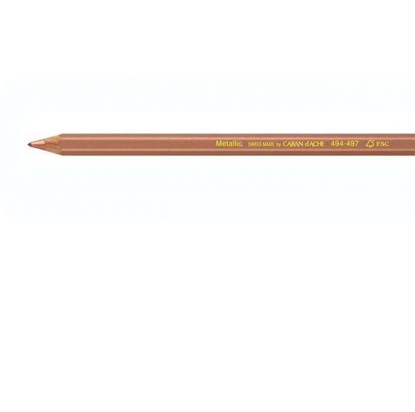 Metallic Brons 494.497 Maxi Kleurpotlood Caran d'ache