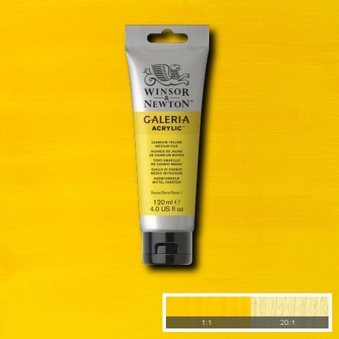 Galeria Acryl 120ml 120 S1 Cadmium Yellow Medium Hue
