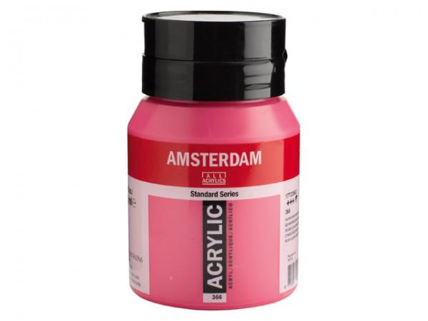 Amsterdam Acryl 500ml 366 Quinacridone rose