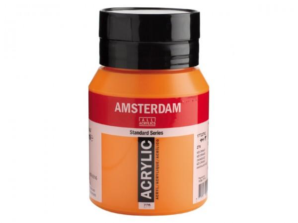 Amsterdam Acryl 500ml 276 Azooranje