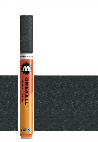 Molotow One4All Acryl Marker 227HS 4mm METALLIC BLACK Paint marker