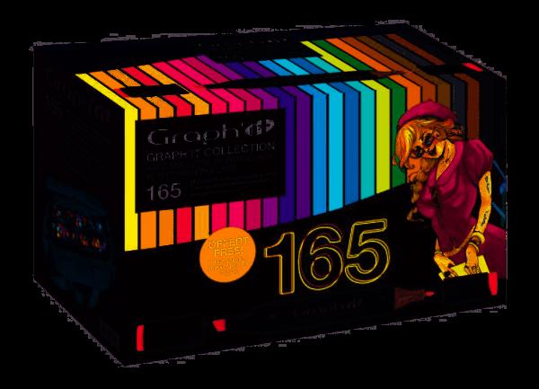 Graph-It marker 165 kleuren met koffer Alcohol Marker