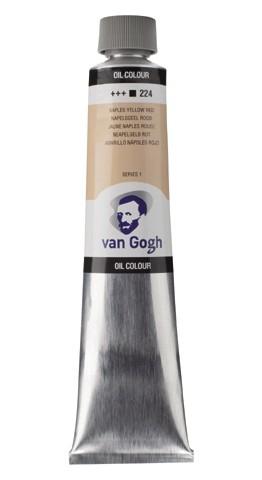 Napelsgeelrood 224 Olieverf 200 ml. Van Gogh