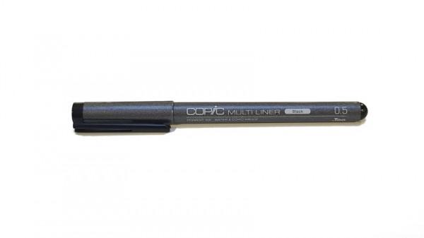 Copic Multiliner Classic zwart 0.5mm Alcohol Marker