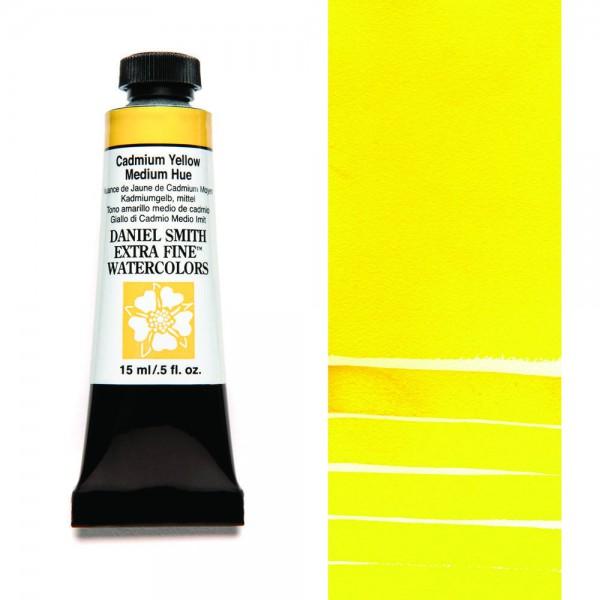 Cadmium Yellow Medium Hue Serie 3 Watercolor 15 ml. Daniel Smith