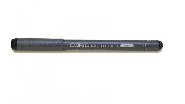 Copic Multiliner classic zwart 0,1mm