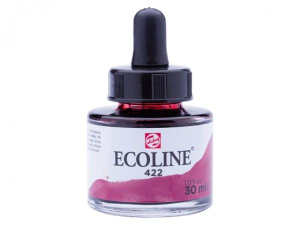 Talens ecoline inkt 30ml - 422 Roodbruin Inkt Kroontjespen